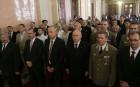 I. világháborús emléktáblát állítottak vissza a Parlamentben a Magyar hősök emléknapján
