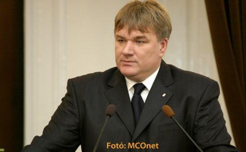 dr. Szűcs Lajos, a MÖOSZ elnöke fotó:MCONET