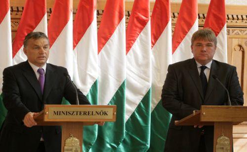 Orbán Viktor, Szűcs Lajos forrás: MTI