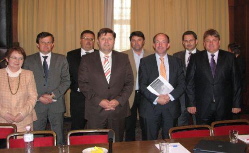 Pascal Goergen a megyei elnökökkel találkozott a hétfői budapesti villámlátogatása során