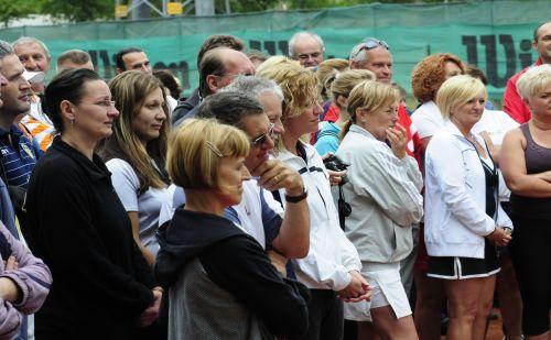 A zuglói jótékonysági tenisztorna résztvevői