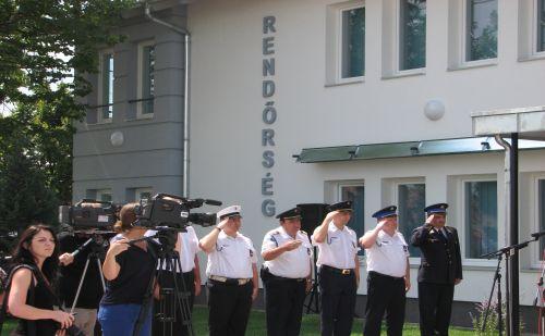 Az új rendőrös Gyálon avató