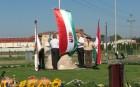 Vecsésen országzászlót avattak Szent István ünnepén