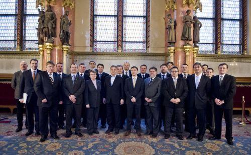 A megyei elnökök Orbán Viktorral tárgyaltak