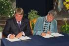 Együttműködési megállapodás a Szent István Egyetem és a megye között