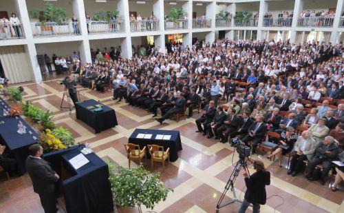 A Szent István Egyetemmel kötött keretmegállapodás aláírása