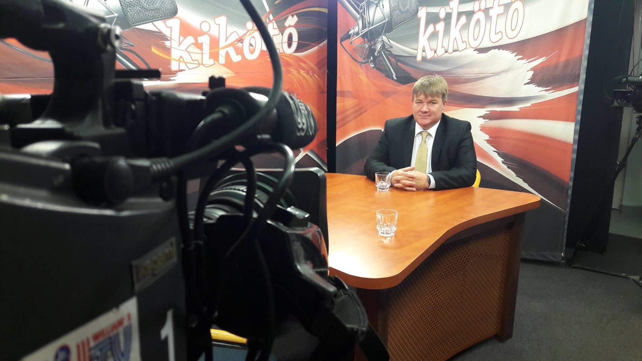 Szűcs Lajos országgyűlési képviselő a Williams Tv Kikötő című műsorában