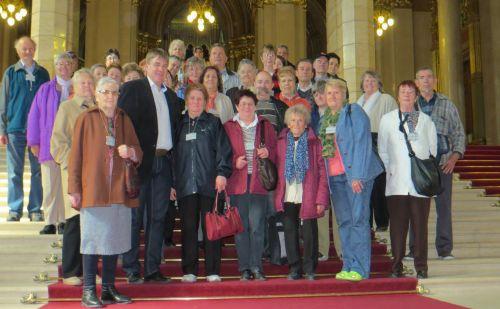 Parlamenti látogatók
