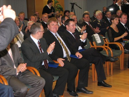 Országos Polgárőr Szövetség kitüntetés - 2010.10.18.