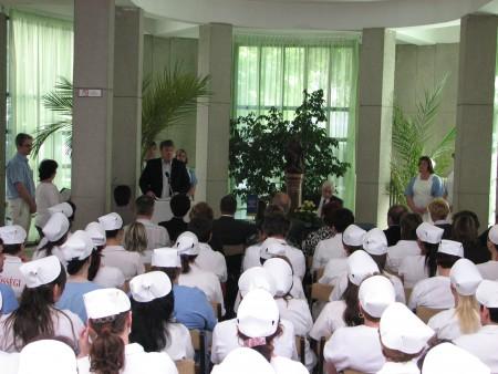 Szakápolói vetélkedő a Rókus Kórházban - 2011.04.21.