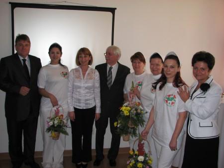 Bizonyítványványátadás a Rókus Kórházban - 2011.05..05.
